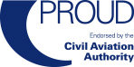 Proud - Endorsed by the Civil Aviation Authority