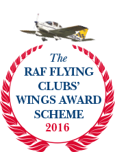 RAF Flying Clubs' Wings Award Scheme, 2016